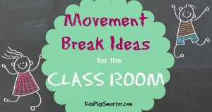 Movement Break Ideas for the Classroom