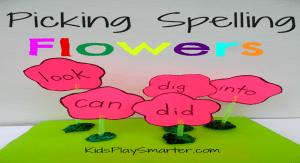 Picking Spelling Flowers