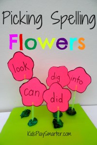 Make learning more fun with this kids' game! Teach spelling words, letters, numbers, or shapes to your kids with these flowers. Perfect for school or home