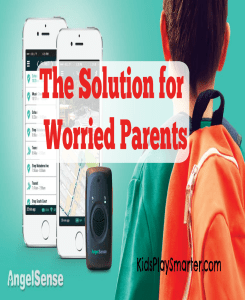 View the safety, location, and happenings of your child at all times when they are away with this GPS system from Angel Sense. It's perfect for children with special needs.