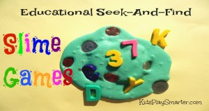 Educational Seek-And-Find Slime Games
