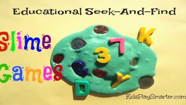 Educational Seek-And-Find Slime Games