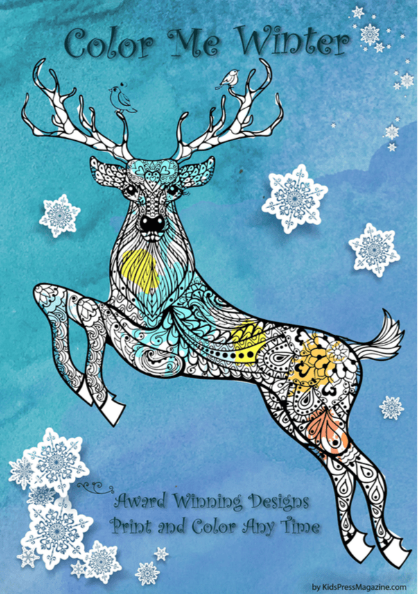 Best 45+ Christmas Holidays Coloring Activities For Kids and Adults – Instant Download