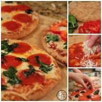 Pita Bread Crust Personal Pizza