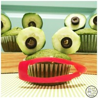 Wide Mouth Frog Spinach Muffins for Kids