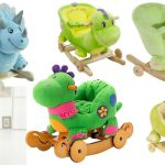 Best Plush Rocking Dinosaurs For Babies Toddlers To Ride On Kids Rocking Horse Toys
