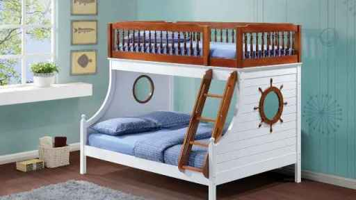"""Buddy The Sailor"" Twin Full Bunk Bed"