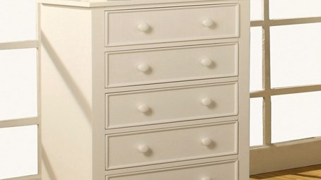 """Victoria Secret"" White KidsRoom Furniture Collection"