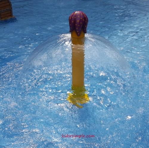 Water fountain (Safra Yishun Pool)