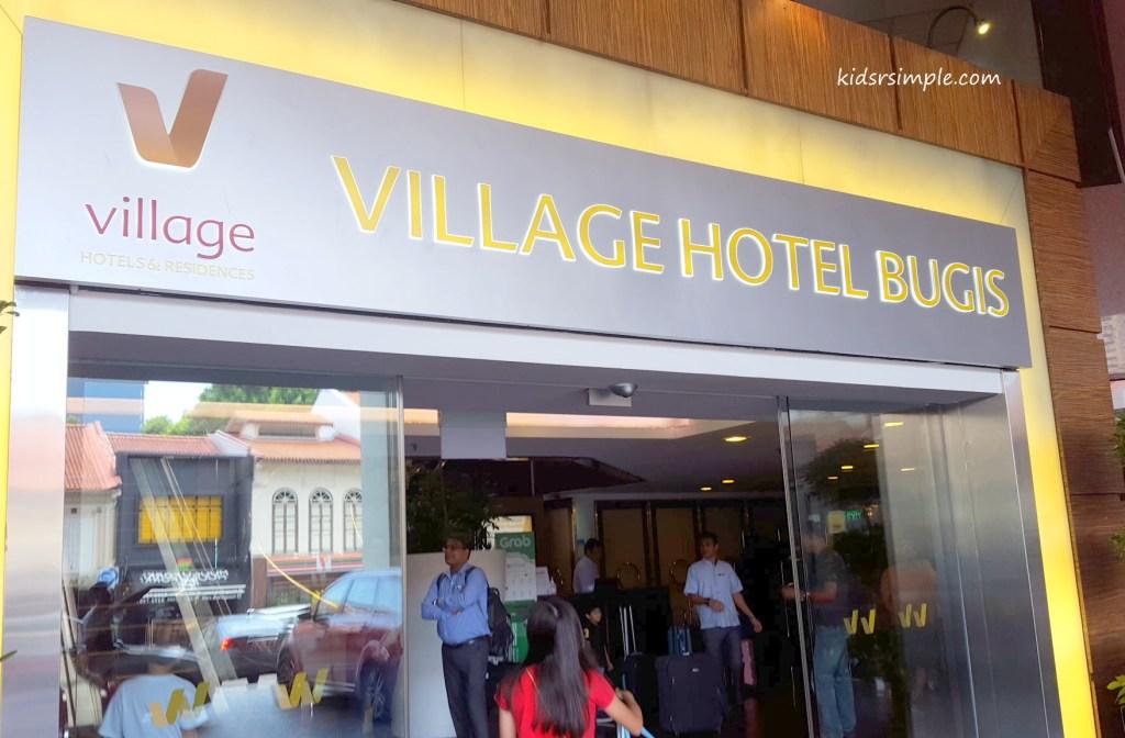 Village Hotel Bugis entrance
