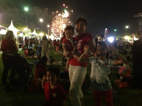 Yeah! The fireworks!!