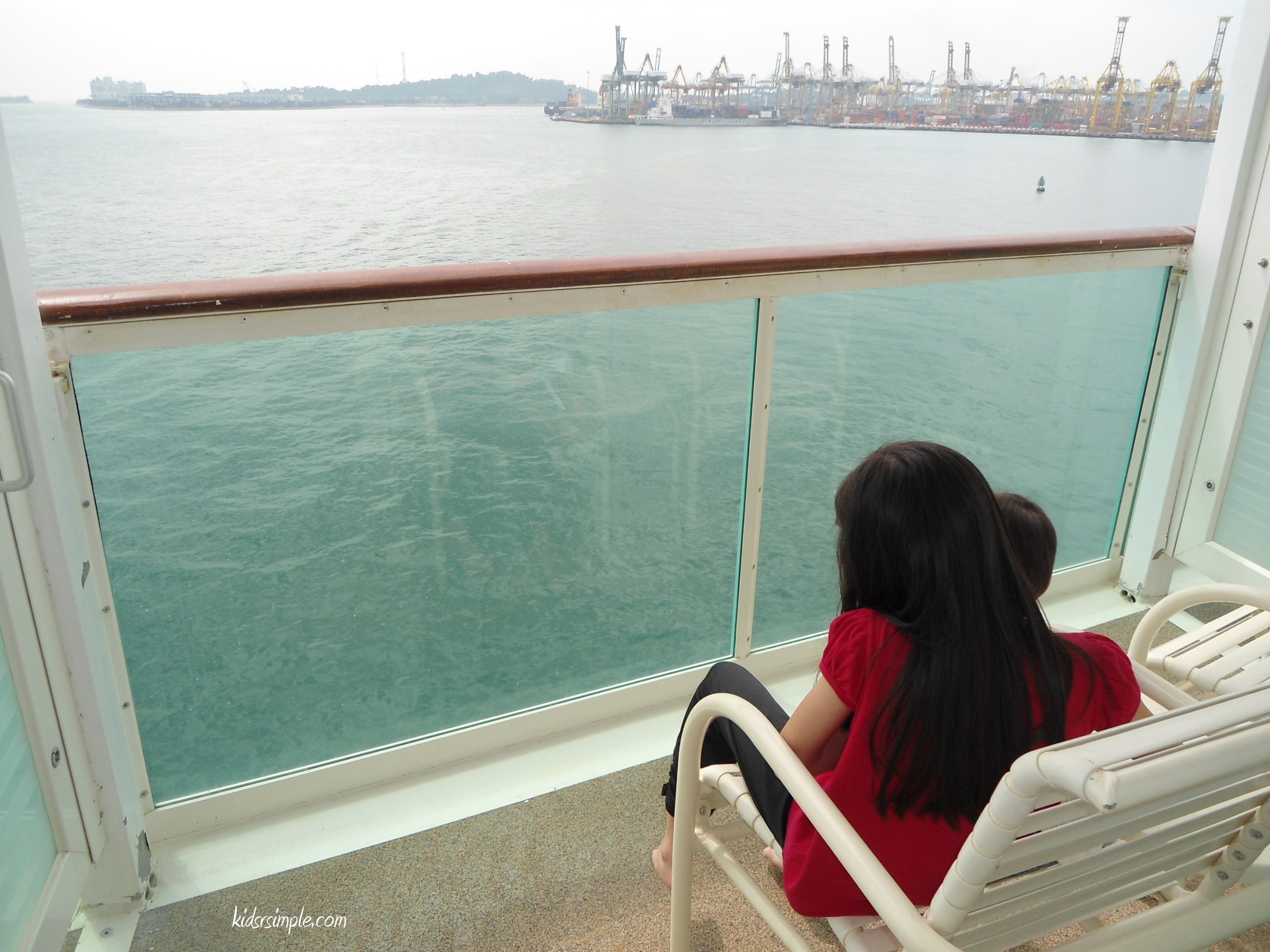 Our first family cruise mariner of the seas royal for Balcony view on cruise