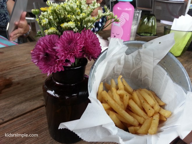 Truffle fries - a top fav with kids and adults alike