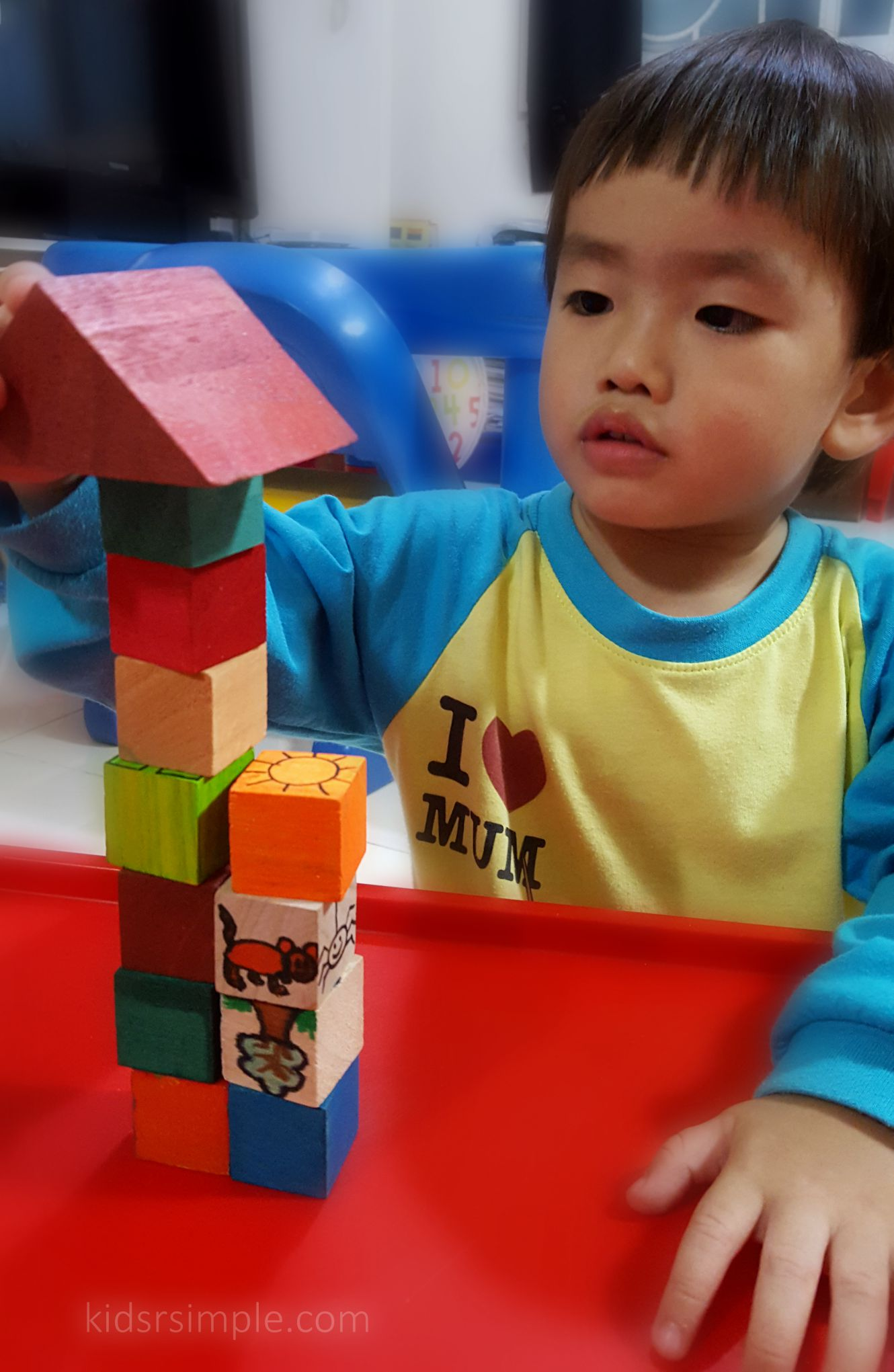DIY Daiso wooden blocks fun Kids R Simple