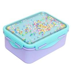 broodtrommel gekleurde balletjes confetti