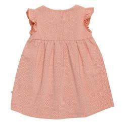 schattige jurk baby roze
