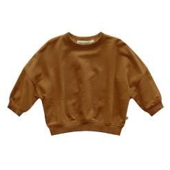 bruin gele trui baby