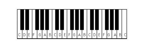 học về nhạc lý, và các phím đàn piano