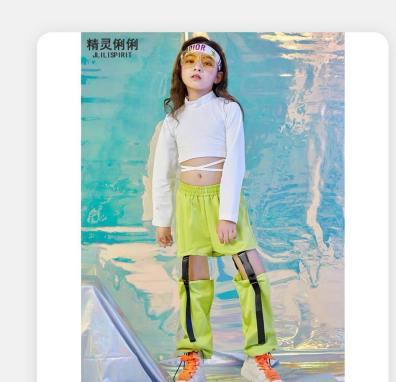 cho thuê trang phục nhảy cho trẻ em