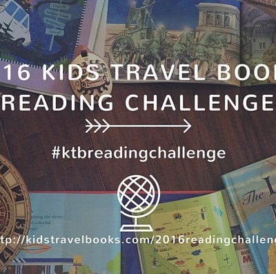 Kids Travel Books 2016 Reading Challenge