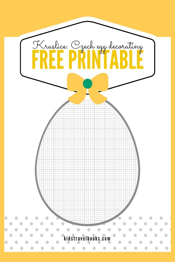 Kraslice Free Printable