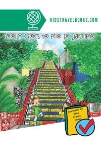 Molly Goes to Rio de Janeiro - Book for kids.