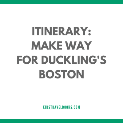 Boston, Make Way for Ducklings – the book, Make Way for Ducklings – the Statue