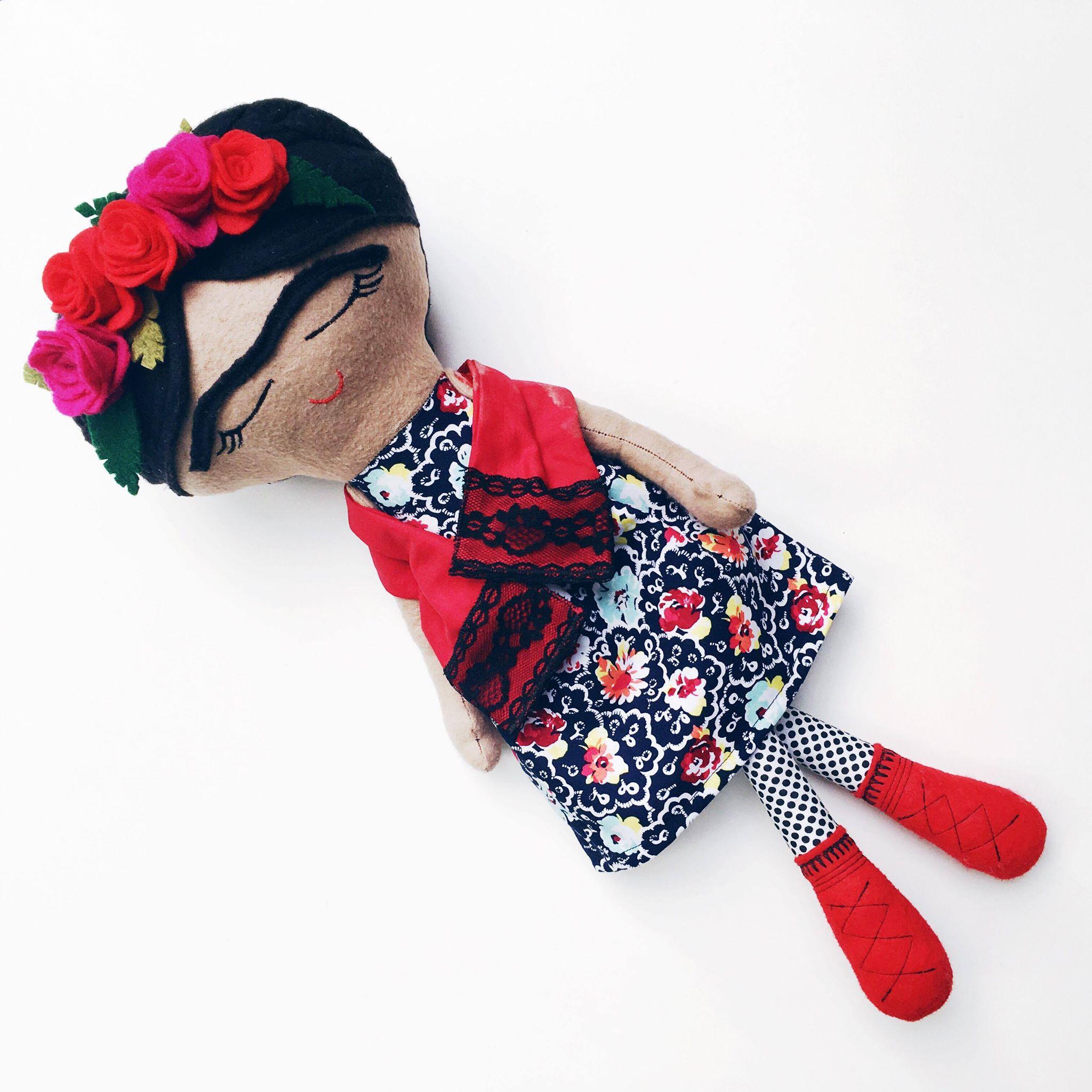 Frida Doll. Photo credit: baibin