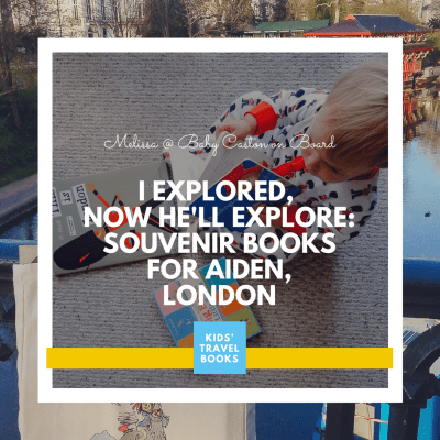 Souvenir Books for Aiden: London
