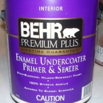 Behr paint rescued our walls!