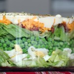 Brighten your Thanksgiving table with this Layered Salad