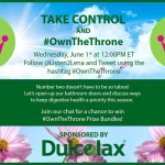 Join the #OwnTheThrone Twitter Party June 1st Noon EST
