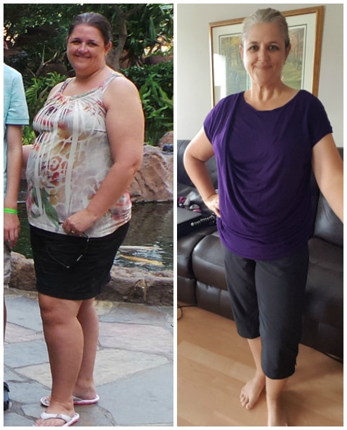 40 lbs lost on weight loss plan
