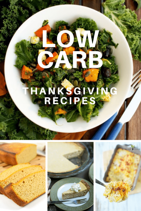 low carb thanksgiving recipes