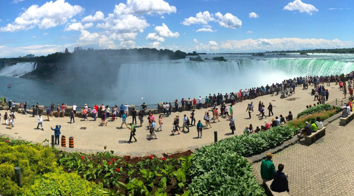 The Usa Vs Canada Experience At Niagara Falls Kidtripster
