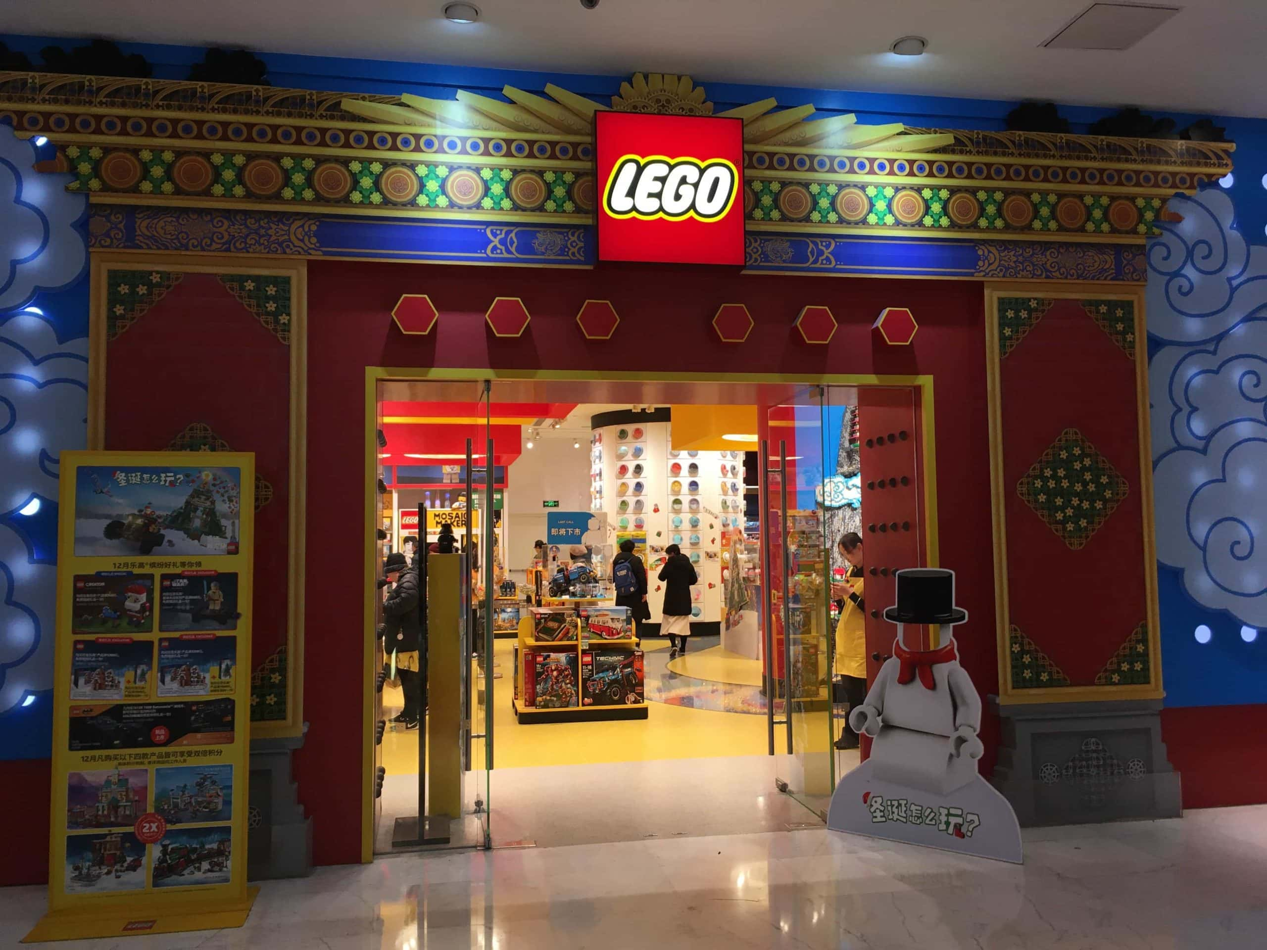 Beijing's first flagship Lego store: The Lego® Store ...