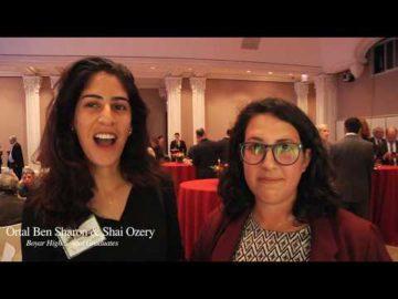 Ortal Ben Sharon & Shai Ozery, Graduates of Mae Boyar High School, Jerusalem, explain how Boyar was a turning point in their lives.