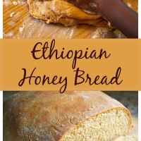 Ethiopian Bread: Honey Dabo