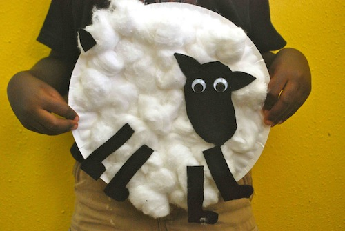 Irish Sheep craft- Kid World Citizen