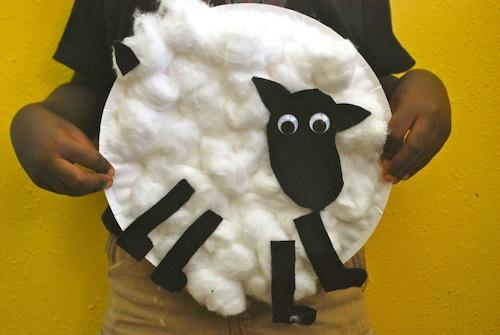 Irish Sheep craft- Kid World Citizen