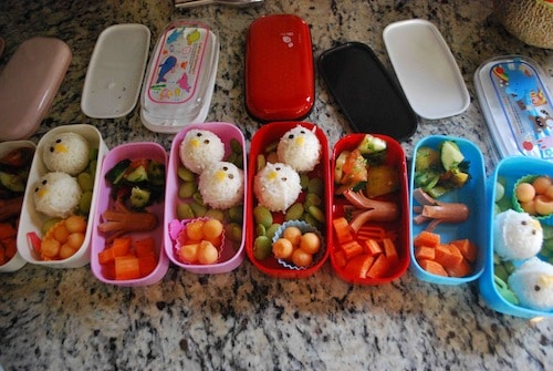My first Bento boxes- Kid World Citizen