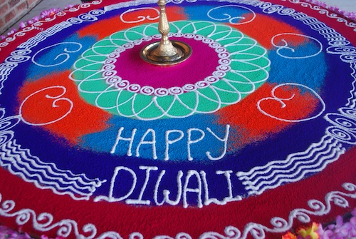 What is Diwali? Rangoli: Floor Folk Art from India- Kid World Citizen