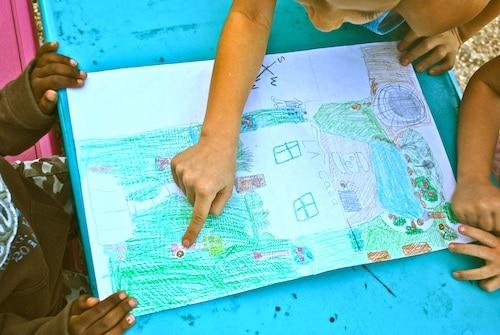 Map Your Backyard- Kid World Citizen