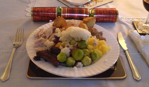 Christmas Dinner UK- Kid World Citizen