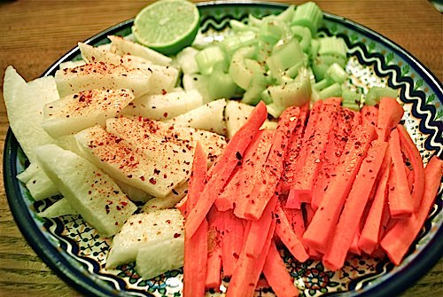 Mexican Veggies with Tajin- Kid World Citizen