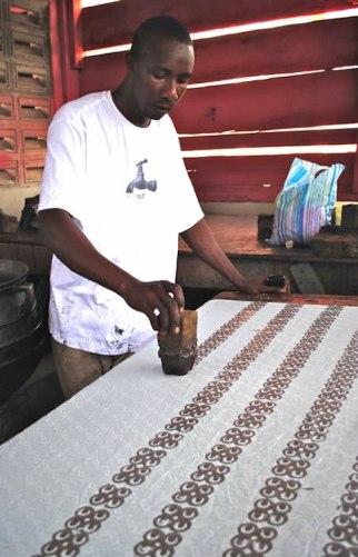Printing in Adinkra- Kid World Citizen
