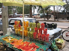 Mexican Fruit Stand- Kid World Citizen
