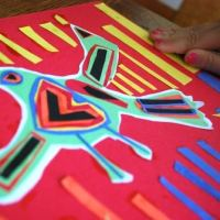 "Create a ""Mola:"" Folk-Art from Panamá"