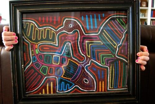 Panama Mola Folk Art- Kid World Citizen