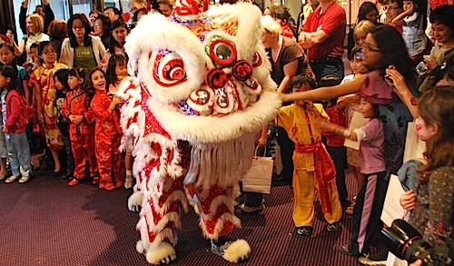chinese new year lion dance kid world citizen